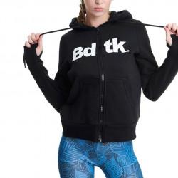 Bdtk Γυναικεία ζακέτα Bdtk Logo Mαύρο