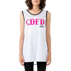 COMME des FUCKDOWN T-Shirt CDFD1029 άσπρο