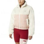 Fila Yauani Jacket Άσπρο/Ρόζ