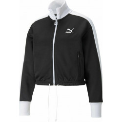 PUMA Iconic T7 Crop Jacket PT Μαύρο
