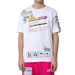 COMME des FUCKDOWN T-shirt άσπρο