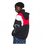 Karl Kani Retro Block Trackjacket μαύρο/ κόκκινο/ άσπρο