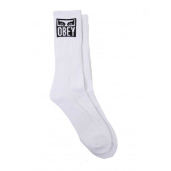 OΒΕΥ Eyes Icon Socks Άσπρο