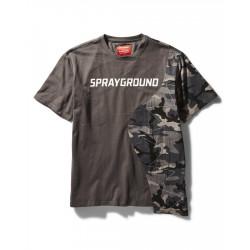 Sprayground SPLIT T-SHIRT Γκρι