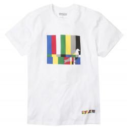Staple Pigeon Color Bars Tee άσπρο