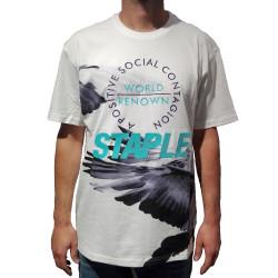 Staple Pigeon Wings Tee άσπρο