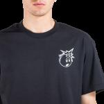 The Hundreds Simple Adam T-shirt μαύρο