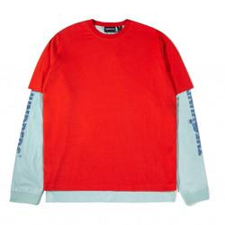 The Hundreds Hill L/S Shirt κόκκινο/ βεραμάν