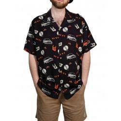 THE DUDES GTI Shirt Μαύρο