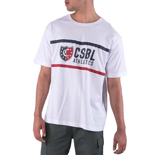 CSBL Insignia Oversized Tee άσπρο