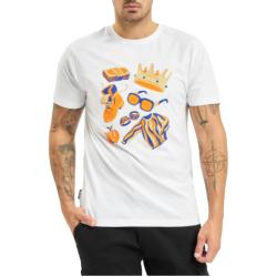 Cayler And Sons WL Big Elements T-Shirt άσπρο