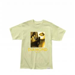 Diamond Black Gloves Tee κίτρινο