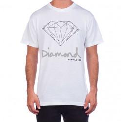 Diamond supply Co. OG Sign T-shirt άσπρο