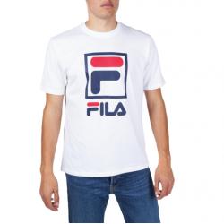 Fila Heritage Stacked Logo άσπρο
