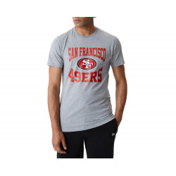 New Era San Francisco 49ers Team Logo T-Shirt Γκρί