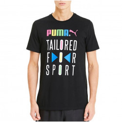 Puma Graphic Tailored for Sport μαύρο