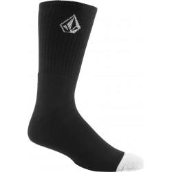 Volcom Full Stone Sock 3 Pack  Μαύρο