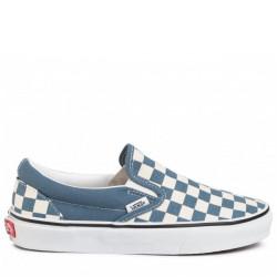 Vans Classic Slip-on Checkerboard μπλε/ άσπρο