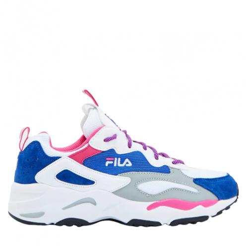 Fila Ray Tracer Womens μπλε/γκρι/ροζ/άσπρο